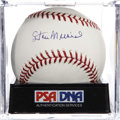 Autographs:Baseballs, Stan Musial Single Signed Baseball, PSA Mint+ 9.5....