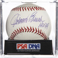 "Autographs:Baseballs, Johnny Bench ""HOF 89"" Single Signed Baseball, PSA Mint 9...."