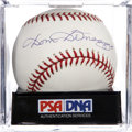 Autographs:Baseballs, Dom DiMaggio Single Signed Baseball, PSA Mint 9....