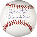 "Autographs:Baseballs, Andruw Jones ""05 MLB Home Run Champ"" Single Signed Baseball...."