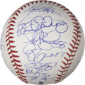 Autographs:Baseballs, 2008 Toronto Blue Jays Team Signed Baseball....