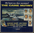 "Movie Posters:War, The Caine Mutiny (Columbia, 1954). Six Sheet (81"" X 81""). War...."