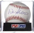 Autographs:Baseballs, Willie McCovey Single Signed Baseball PSA Mint+ 9.5....