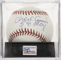 "Autographs:Baseballs, Orlando Cepeda ""58 ROY"" Single Signed Baseball, PSA Mint 9...."