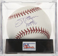 Autographs:Baseballs, Jim Palmer Single Signed Baseball PSA Mint 9.5....