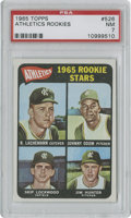Baseball Cards:Singles (1960-1969), 1965 Topps Athletics Rookies #526 PSA NM 7....