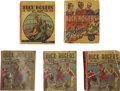 Platinum Age (1897-1937):Miscellaneous, Buck Rogers Big Little Book Group (Whitman, 1933-35).... (Total: 5Items)