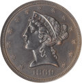 1869 $5 Five Dollar, Judd-775, Pollock-861, High R.7--Burnished--NCS. Proof....(PCGS# 61007)