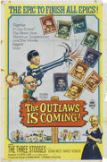Memorabilia:Poster, The Outlaws is Coming Movie Poster (Columbia, 1965)....
