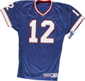 Football Collectibles:Uniforms, Jim Kelly Signed Jersey....