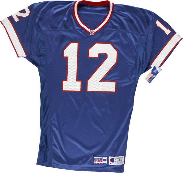 uk availability 403e3 749cc Jim Kelly Signed Jersey.... Football Collectibles Uniforms ...
