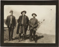 Photography:Official Photos, Photograph of Buffalo Bill and Unidentified Indian Scout....