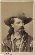 "Photography:CDVs, William F. Cody ""Buffalo Bill"" Carte de Visite...."