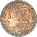 Patterns, 1879 10C Morgan Ten Cents, Judd-1587, Pollock-1780, HighR.6-Improperly Cleaned-NCS. Proof....