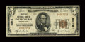 National Bank Notes:Pennsylvania, Intercourse, PA - $5 1929 Ty. 1 The First NB Ch. # 9216. ...