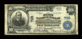 National Bank Notes:Connecticut, Stonington, CT - $10 1902 Plain Back Fr. 624 The First NB Ch. # 735. ...