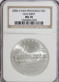 Modern Issues, 2006-S $1 SF Old Mint MS70 NGC. PCGS Population (331/0). Numismedia Wsl. Price for NGC/PCGS coin in MS7...