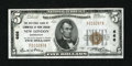 National Bank Notes:Connecticut, New London, CT - $5 1929 Ty. 1 The NB of Commerce of New London Ch. # 666. ...