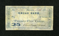 Obsoletes By State:Connecticut, Norwich CT- Andrew & Nash, Payable at Uncas Bank 25¢ Oct. 18,1862. ...