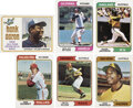 Baseball Cards:Sets, 1974 Topps Baseball Complete Set (660) Plus Traded Complete Set (44)....