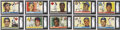 Baseball Cards:Sets, 1955 Topps Baseball Near Set (203/206)....