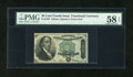 Fractional Currency:Fourth Issue, Fr. 1379 50c Fourth Issue Dexter PMG Choice About Unc 58 EPQ....