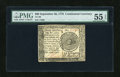 Colonial Notes:Continental Congress Issues, Continental Currency September 26, 1778 $60 PMG About Uncirculated55 EPQ....