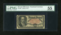 Fractional Currency:Fifth Issue, Fr. 1381 50c Fifth Issue PMG About Uncirculated 55....