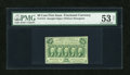 Fractional Currency:First Issue, Fr. 1313 50c First Issue PMG About Uncirculated 53 Net....