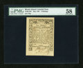 Colonial Notes:Rhode Island, Rhode Island May 1786 5s PMG Choice About Unc 58....