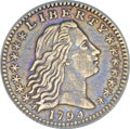 Early Half Dimes, 1794 H10C --Improperly Cleaned--NCS. AU Details....
