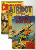Golden Age (1938-1955):Miscellaneous, Miscellaneous Golden Age Group (Various Publishers, 1940s-'50s) Condition: Average GD/VG.... (Total: 17 Comic Books)