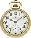 Timepieces:Pocket (post 1900), Ball Grade 999 B Official Railroad Standard by Hamilton, circa1930's. ...