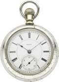 "Timepieces:Pocket (pre 1900) , Hampden ""Wheat"" Model Pocket Watch, circa 1884. ..."