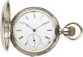 Timepieces:Pocket (pre 1900) , Longines Early Pocket Watch, circa 1880. ...