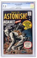 Silver Age (1956-1969):Mystery, Tales to Astonish #8 (Marvel, 1960) CGC VF- 7.5 Cream to off-whitepages....