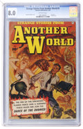 Golden Age (1938-1955):Horror, Strange Stories from Another World #5 (Fawcett, 1953) CGC VF 8.0Off-white pages....