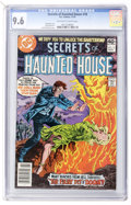 Bronze Age (1970-1979):Horror, Secrets of Haunted House #18 (DC, 1979) CGC NM+ 9.6 Off-white towhite pages....