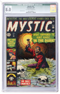 Golden Age (1938-1955):Horror, Mystic #13 (Atlas, 1952) CGC Qualified VF 8.0 Off-white to whitepages....
