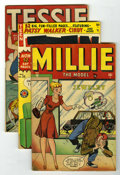 Golden Age (1938-1955):Humor, Timely Humor Comics Group (Timely, 1944-50) Condition: Average VG.... (Total: 6 Comic Books)