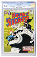 Silver Age (1956-1969):Horror, House of Secrets #65 Massachusetts Copy pedigree (DC, 1964) CGC NM9.4 Off-white pages....