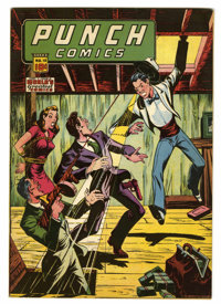 Punch Comics #18 (Chesler, 1946) Condition: FN+
