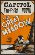 "Movie Posters:Adventure, The Great Meadow (MGM, 1931). Window Card (14"" X 22""). WesternAdventure. Starring Johnny Mack Brown, Eleanor Boardman, Luc..."