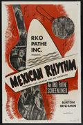 """Movie Posters:Short Subject, RKO Screenliner (RKO, 1952). One Sheet (27"""" X 41"""") Style A.""""Mexican Rhythm."""" Short Subject. Starring Luis Arcaraz and his ..."""