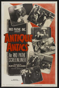"Movie Posters:Short Subject, RKO Screenliner (RKO, 1951). One Sheet (27"" X 41"") Style A.""Antique Antics."" Short Subject. Narrated by Andre Baruch. Pr..."