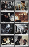"""Movie Posters:Adventure, Raiders of the Lost Ark (Paramount, 1981). Mini Lobby Card Set of 8(8"""" X 10""""). Adventure. Starring Harrison Ford, Karen All... (Total:8)"""