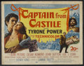 "Movie Posters:Adventure, Captain from Castile (20th Century Fox, 1947). Title Lobby Card(11"" X 14""). Adventure. Starring Tyrone Power, Jean Peters, ..."