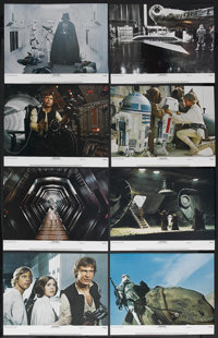 "Star Wars (20th Century Fox, 1977). Lobby Card Set of 8 (11"" X 14""). Science Fiction. Starring Mark Hamill, Ha..."