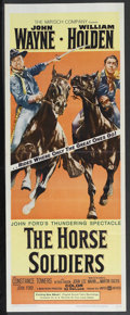 """Movie Posters:Western, The Horse Soldiers (United Artists, 1959). Insert (14"""" X 36""""). Western. Starring John Wayne, William Holden, Constance Tower..."""