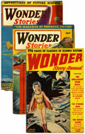 Pulps:Science Fiction, Wonder Stories Group (Standard, 1929-50) Condition: AverageGD/VG....